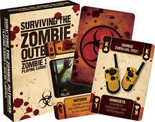 ZOMBIE OUTBREAK SURVIVAL - PLAYING CARD DECK