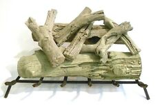 "FIREPLACE LOG SET, DRIFTWOOD, 7 PIECE, 24"", CERAMIC"