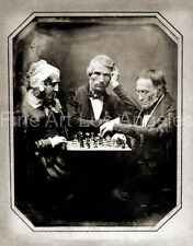 Photo of Antoine Claudet daguerrotype, Chess