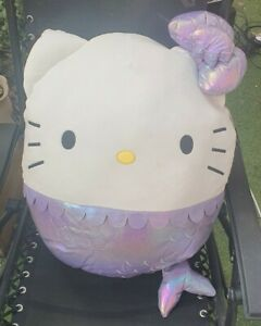 LARGE Squishmallow Hello Kitty Mermaid 20inch XMAS GIFT SOFT TOY