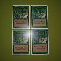 Wild Growth x4 Fourth Edition 4th 4x Playset Magic the Gathering MTG