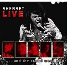 SHERBET LIVE AND THE CROWD WENT WILD CD NEW