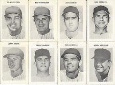 1970 New York Mets Black & White Stamps Lot of 8 Grote Harrelson Shamsky Swoboda
