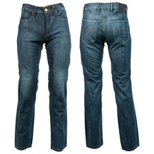Richa Hammer 2 CE Motorcycle Jeans Regular Leg Trousers - Stone Wash Blue