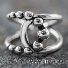Silberring Silber 925 Ring  Verstellbar Offen R0801  Schick, modern, Edel,