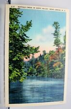 North Carolina NC Lenoir Happy Valley Buffalo Creek Postcard Old Vintage Card PC