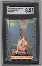 1992-93 Stadium Club Beam Team #1 Michael Jordan SGC 8.5 NM/Mt+
