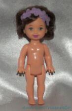 2001 Barbie Nutcracker Jenny As Flower Fairy Brunette Kelly Friend w/Brown Eyes