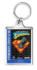 THE DEATH AND RETURN OF SUPERMAN MEGA DRIVE KEYRING LLAVERO