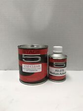 High Gloss Urethane Clear coat Quart Kit 4:1 with Fast Activator