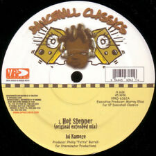 "Ini Kamoze - Hot Stepper / Version 12"" lp - Reggae Dancehall Classic Anthem NEW"