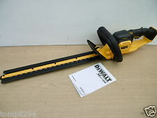 BRAND NEW DEWALT 18V XR DCM563 55CM GARDEN HEDGE TRIMMER BARE UNIT