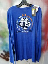 Men's 2XL Chicago Cubs NEW YORK METS 2015 NLCS Under Armour MLB Shirt