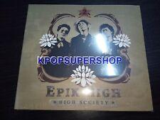 Epik High Vol. 2 High Society CD New Sealed K-POP KPOP Tablo Penny OOP Rare