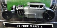 MAISTO 29 1929 FORD MODEL A OUTLAWS SILVER RAT ROD CUSTOM STYLE CAR 1/2,500 RARE