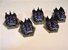 Mecharrior Battletech painted miniature Fox Armoured Car star NCICE Winter ICE