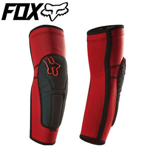 Fox Launch Enduro Elbow Pads Protective Guards - Red - Size Large