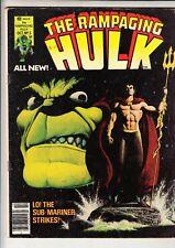 THE RAMPAGING HULK   #5 MARVEL MAGAZINE 1977 66 pgs   STARLIN Cover SUB-MARINER