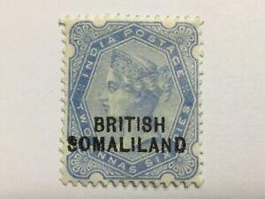 old stamp  BRITISH SOMALILAND  2 annas 6 pies QV