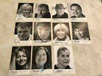 Ohnsorg Theater UH 11 Autogrammkarten original signiert Mahler Ketelhut AK 7272