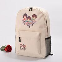 Anime Attack on Titan Eren Jager School Bag Travel Bag Canvas Backpack