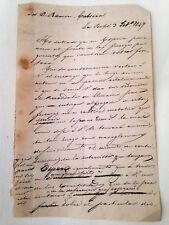 RAMÓN CABRERA, segunda Guerra Carlista.  La Bafol, 3 de febrero de 1849