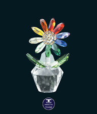 "[Special Offer] ""Colourful Chrysanthemum"" Austrian Crystal Figurine was Au$57.00"