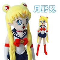 Anime Sailor Moon Usagi Tsukino Stuffed Doll Plush Throw Pillow Kids' Gift 50CM