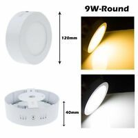 9W 15W 21W Round/Square LED Panel lighting Surface Mount Wall Ceiling Down Light