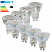 LED LAMPADINA 20/12/10/4x GU10 GU5.3 6W 7W MR16 Lampada Spot SMD ALTA LUMINOSITA