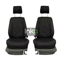 VW Caddy Front Set 1 + 1 Inka Fully Tailored Waterproof Seat Covers Black