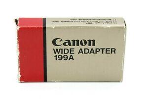 Canon Wide Adapter 199A/Box