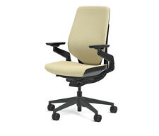 New Steelcase Gesture Chair Adjustable Cogent Connect Shell Black Frame Malt