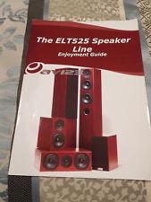 AV123 ELT525 SPEAKER LINE ENJOYMENT GUIDE