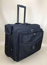 Travelpro Crew 4 Black Expandable Wheeled Rolling Garment Bag #7134