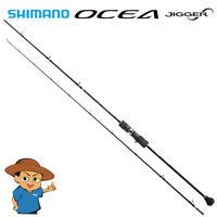 """Shimano OCEA JIGGER INFINITY B653 6'5"""" baitcasting MAX 230g jigging fishing rod"""