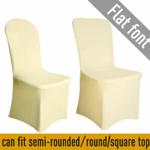 ivory stretch lycra chair covers