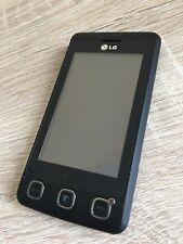 LG Cookie KP500 - Black (Unlocked) Smartphone