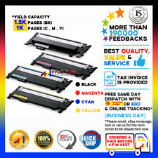 4x NON-genuineToner CLT-K406S CLT-C406S CLT-M406S CLT-Y406S for Samsung CLP365