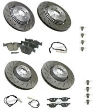 For BMW E60 M5 E63 E64 M6 Performance Complete Brake KIT Rotors Pads Sensors