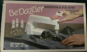 BEDAZZLER Rhinestone & Stud Setter Machine Instructions & Patterns Vintage 1980s