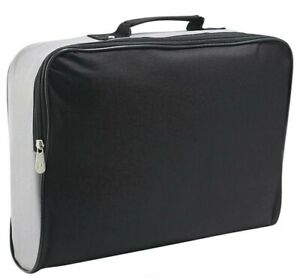 Briefcase/Laptop Bag/Satchel two coloured Black/Grey