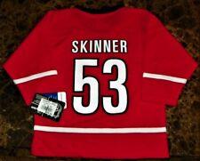 """NEW"" Carolina Hurricanes ~ #53 SKINNER 2-Sided JERSEY ~ NHL Boy's Sz XS 4 / 5"