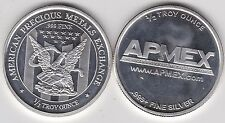 AMERICAN PRECIOUS METAL EXCHANGE HALF OUNCE .999 SILVER IN NEAR MINT CONDITION