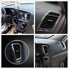 Chrome Interior Right Console Side Air Vent Cover Trim For 11-15 Kia K5 Optima