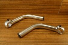 vintage 1990's aluminium alloy bar ends & plugs for MTB silver
