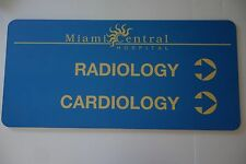 Original Dexter Prop - Miami Central Hospital Cardiology Sign Michael C. Hall