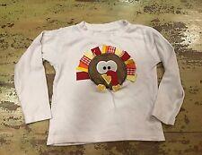 Boys Sz 2T Custom Made Turkey Ribbon Shirt