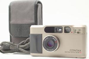 [Near MINT] Contax T2 Titan 35mm Point & Shoot Film Camera From JAPAN #108