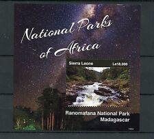 Sierra Leone 2015 MNH National Parks of Africa Ranomafana Madagascar 1v S/S II